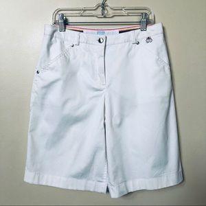 Escada Sport White Shorts